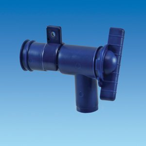 28Mm Blue Drainage Tap
