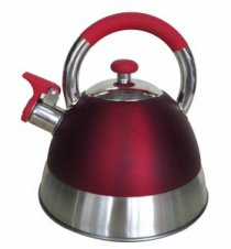 2.5L Red Whistling Kettle