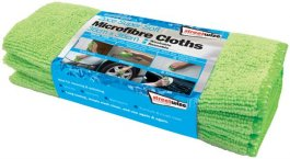 2 pk microfibre glass towel