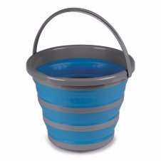 Collapsible 10L bucket blue