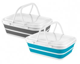 Collapsable Cooler With Handles