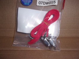 Bike Rack Strap Pair - Red
