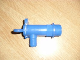 Blue Fresh Water Gate/Drain Valve