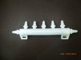 Water Manifold 5 + 2 Outlet