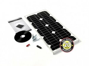 20W Solar Panel Kit Inc Reg