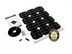 30W Solar Panel Kit Inc Reg