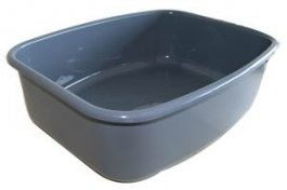Spinflo Grey Plastic Bowl