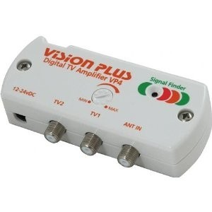 VP4 T.V amplifier with signal finder