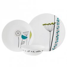 Corelle 12Pc Set Abstract Meadow