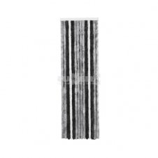 Chenille Curtain Grey And Black