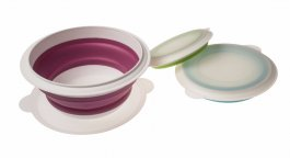 Compact Collapsible Bowl Set