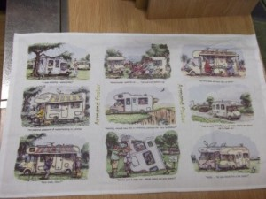 Tea towel motorhome