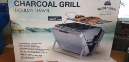 Holiday Travel Charcoal Grill