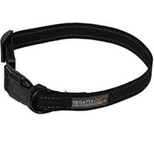 Comfort Dog Collar Black/Red
