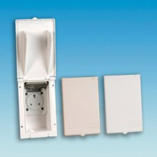White External 13Amp Socket Bo