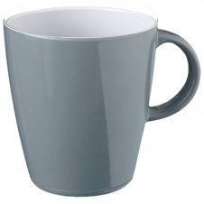 Grey resylin mug 30cl