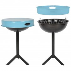 Bbq table blue