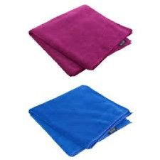 Travel towel giant blue/pink