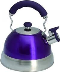2.5L Purple Whistling Kettle