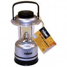 Rolson 15 Led Lantern/Dimmer