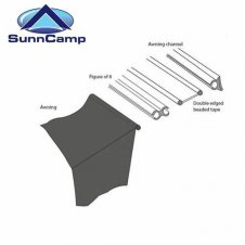 Sunncamp Driveaway Kit 6Mm-4Mm
