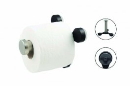 Toilet Roll Holder With Suctio