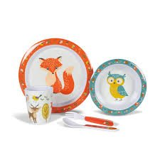 Woodland creatures childrens set